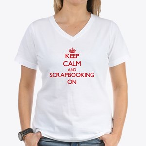 Keep Calm and Scrapbooking ON T-Shirt