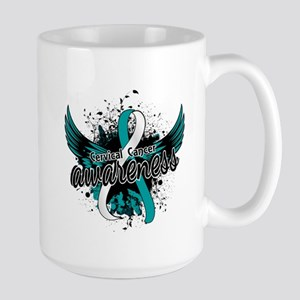 Cervical Cancer Awareness 16 Large Mug