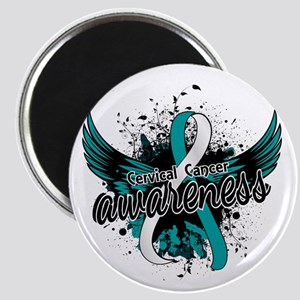 Cervical Cancer Awareness 16 Magnet