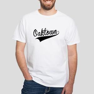 Oaktown, Retro, T-Shirt