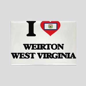 I love Weirton West Virginia Magnets