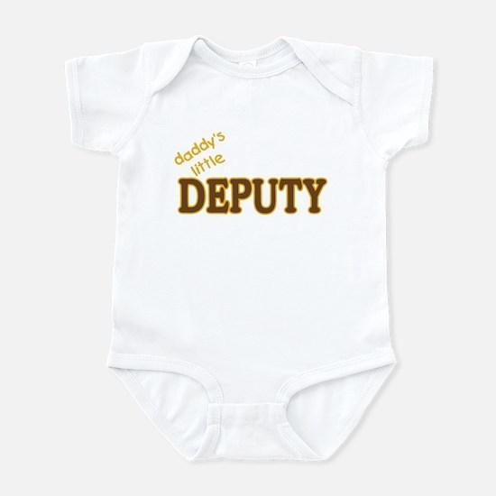 Daddy's Little Deputy Infant Bodysuit