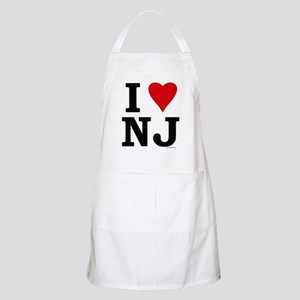 I LOVE NJ BBQ Apron