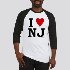 I LOVE NJ Baseball Jersey