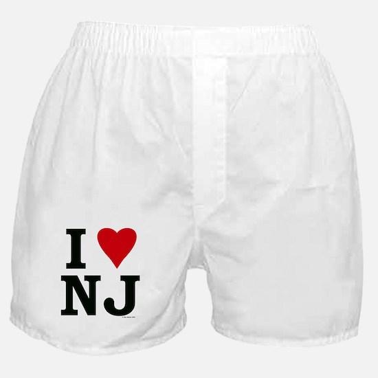 I LOVE NJ Boxer Shorts
