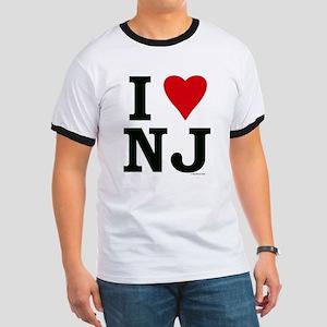 I LOVE NJ Ringer T
