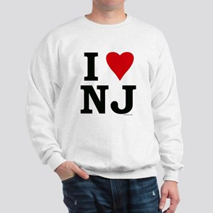 I LOVE NJ Sweatshirt