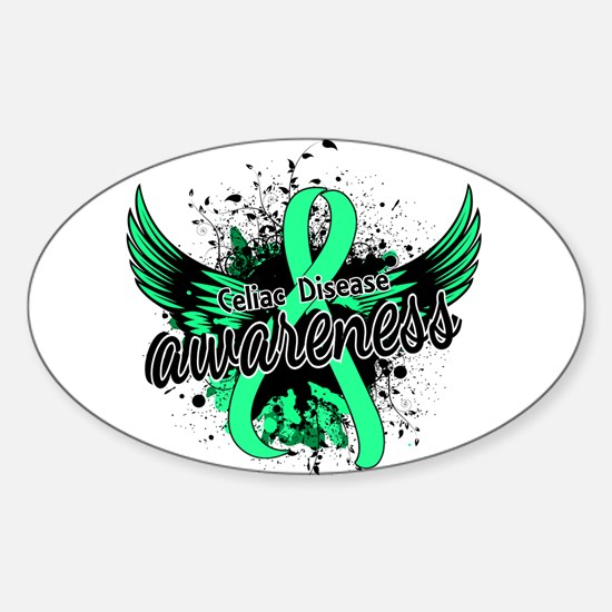 Celiac Disease Awareness 16 Sticker (Oval)