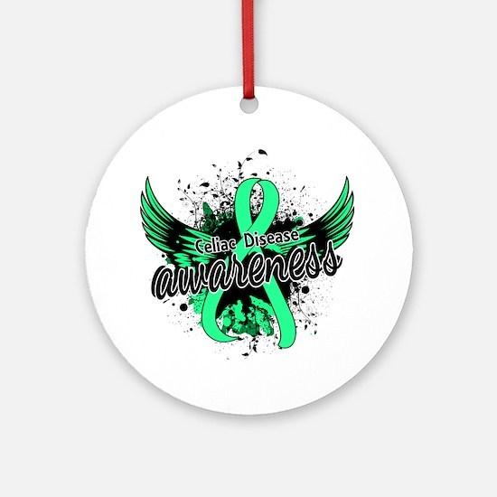 Celiac Disease Awareness 16 Ornament (Round)