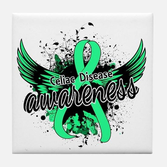 Celiac Disease Awareness 16 Tile Coaster