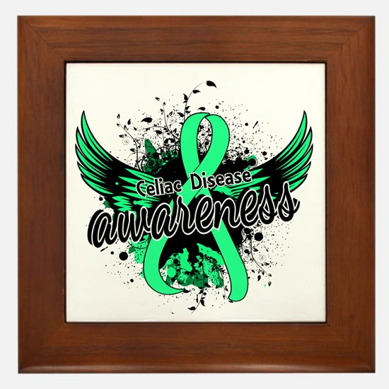 Celiac Disease Awareness 16 Framed Tile