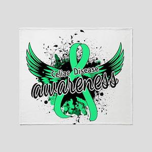 Celiac Disease Awareness 16 Throw Blanket