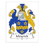 Meyrick Family Crest Small Poster