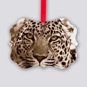 Leopard Picture Ornament