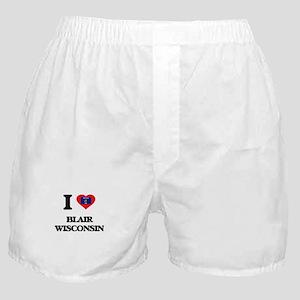 I love Blair Wisconsin Boxer Shorts