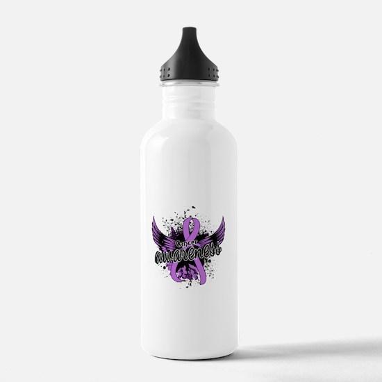 Cancer Awareness 16 Water Bottle