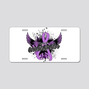 Cancer Awareness 16 Aluminum License Plate