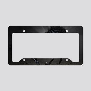 Dark Horse License Plate Holder