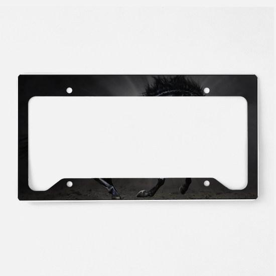 Dark Horse License Plate Holder