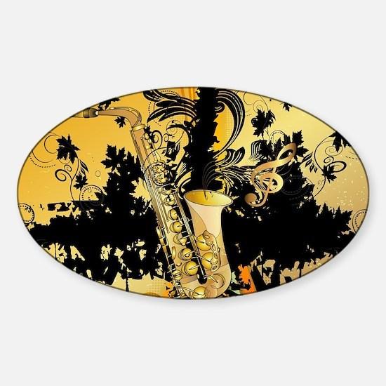 Music, saxophone Bumper Stickers