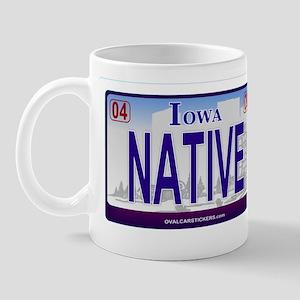 Iowa Plate - NATIVE Mug