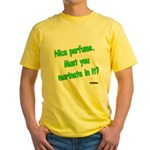 Nice Perfume Yellow T-Shirt