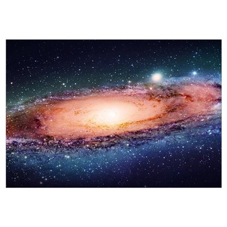 Wall Art. Milky Way & Galaxy Wall Art - CafePress