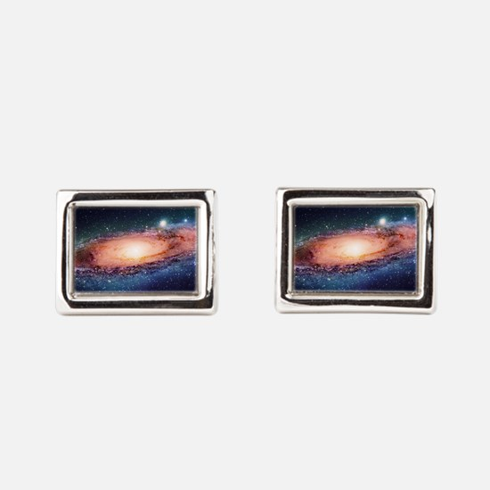 Milky Way Rectangular Cufflinks