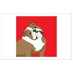 The Artsy Dog Bulldog Series Posters