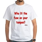 Tampon Fuse White T-Shirt