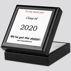 """Class of 2020 Keepsake Box """"To say thank you"""""""