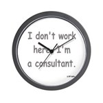 Consultant Wall Clock