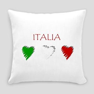 Italia Hearts Everyday Pillow