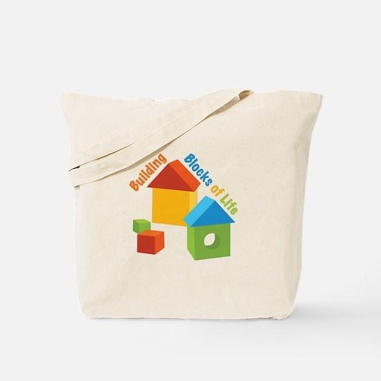 Building Blocks Of Life Tote Bag
