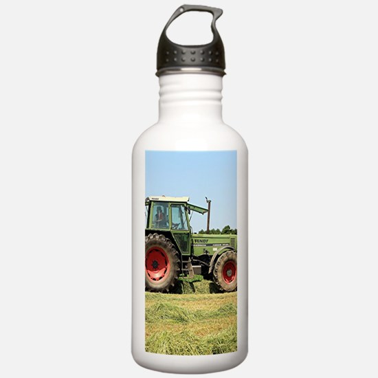 Tractor at work on El Water Bottle
