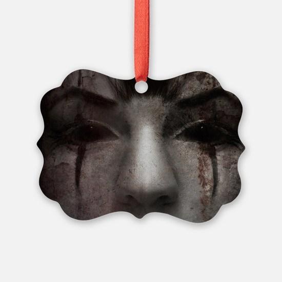 Mirrorface Ornament