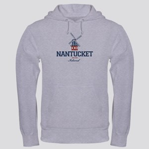 Nantucket - Massachusetts. Hooded Sweatshirt