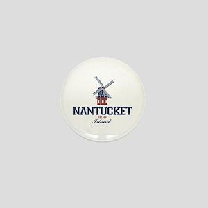 Nantucket - Massachusetts. Mini Button