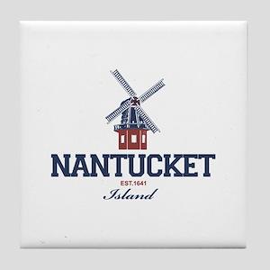 Nantucket - Massachusetts. Tile Coaster