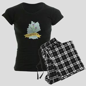 Germany Knapweed Flower Pajamas
