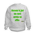 Sarcasm Kids Sweatshirt