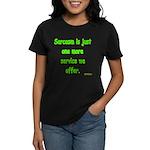 Sarcasm Women's Dark T-Shirt