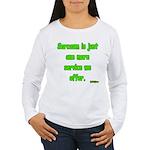 Sarcasm Women's Long Sleeve T-Shirt