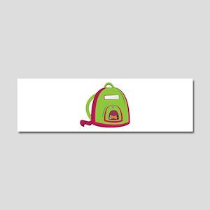 School Bag Car Magnet 10 x 3