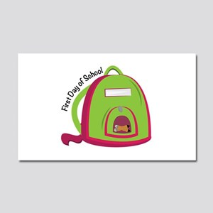 First Day Of School Car Magnet 20 x 12