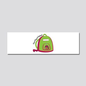 First Day Of School Car Magnet 10 x 3