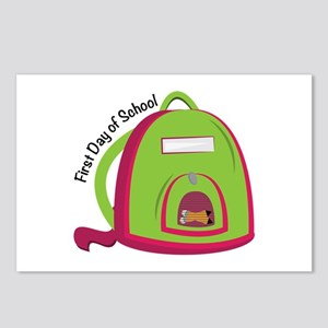 First Day Of School Postcards (Package of 8)