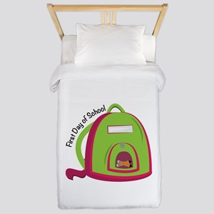 First Day Of School Twin Duvet