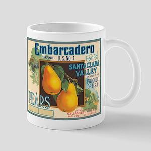 Embarcadero Pears Mug