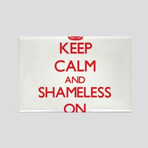 Keep Calm and Shameless ON Magnets